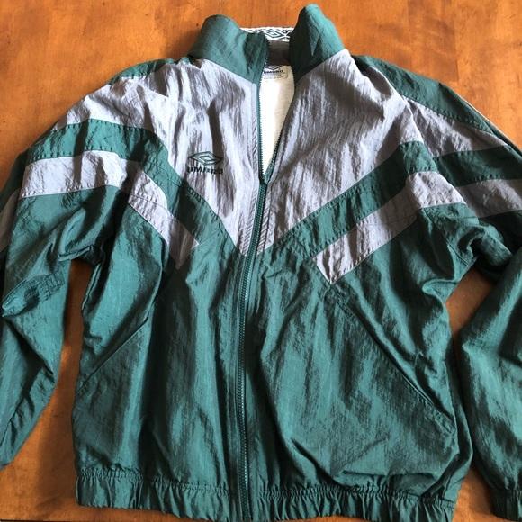 63a80514953 Umbro Jackets & Coats   Vintage 90s Mens Windbreaker Size Medium ...